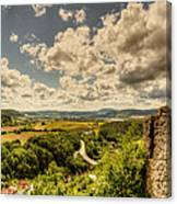 View From The Ruins Canvas Print
