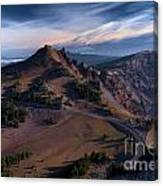 View From The Watchman Canvas Print