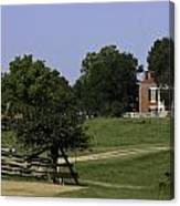 View Of Appomattox Courthouse 1 Canvas Print
