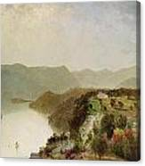 View Of Cozzen's Hotel Near West Point Ny Canvas Print