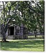 View Of Jones Law Offices Appomattox Virginia Canvas Print