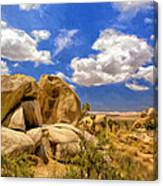 View Of Joshua Tree Canvas Print