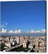 View Of Kaohsiung City Canvas Print