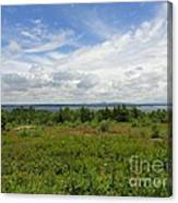 View Of Maine Bay Canvas Print
