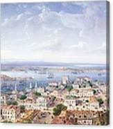View Of Sebastopol  Canvas Print