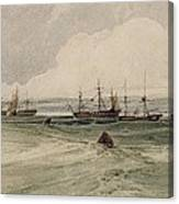 View Of Sheerness Canvas Print