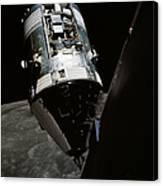 View Of The Apollo 17 Command Canvas Print
