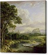 View Of The City Of Edinburgh Canvas Print