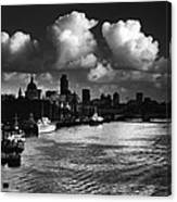 View Of The City Of London Canvas Print