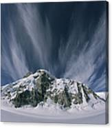 View Of The Combatant Col Canvas Print