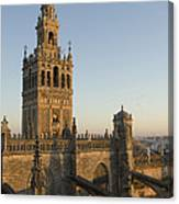 View Of The Giralda Tower Canvas Print