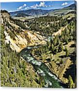 View Of The River Canvas Print