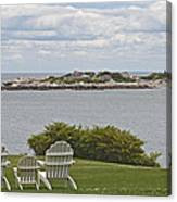 View Of Tinkers Island Canvas Print