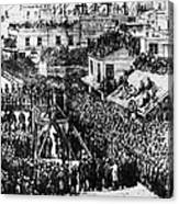 Vigilante Lynching, 1856 Canvas Print