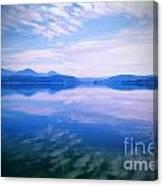 Vignette Lake Pend Orille  Canvas Print
