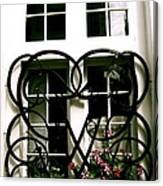 Viking Window  Canvas Print