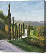 Casa Benne Villa Road Canvas Print