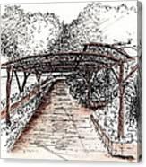 Villa Rufolo Pergola Canvas Print