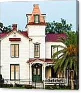 Villa Villekulla The Pippi Longstocking House Amelia Island Florida Canvas Print