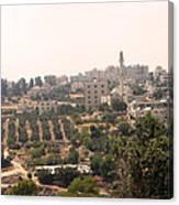 Village Of Beitin Canvas Print