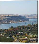 Village Of Maryhill Canvas Print