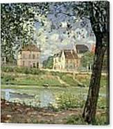 Villeneuve La Garenne Canvas Print