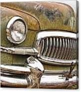 Vintage 1951 Nash Ambassador Front End 2 Canvas Print