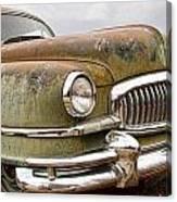 Vintage 1951 Nash Ambassador Front End Canvas Print