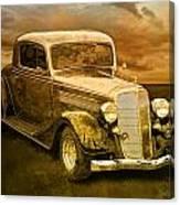 Vintage Automobile No.007 Canvas Print