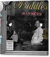 Vintage Barbershop 2 Canvas Print