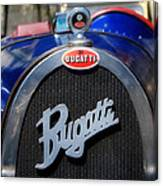Vintage Bugatti Canvas Print