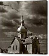 Vintage Church Canvas Print