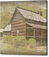 Vintage Davis House Canvas Print