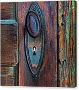 Vintage Door Knob Canvas Print