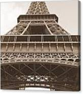Vintage Eiffel Tower Canvas Print