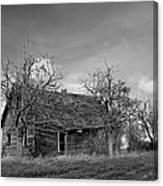 Vintage Farm House Canvas Print