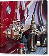 Vintage Fire Truck 1 Canvas Print
