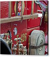 Vintage Fire Truck 2 Canvas Print