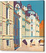 Vintage French Travel Poster Canvas Print