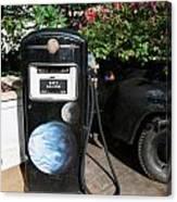 Vintage Gas Pump Canvas Print