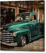 Vintage Green Dream Canvas Print