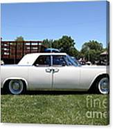 Vintage Lincoln Continental . 5d16679 Canvas Print
