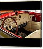 Vintage Packard Interior Canvas Print