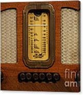 Vintage Radio Canvas Print