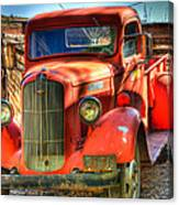 Vintage Red Dodge Canvas Print