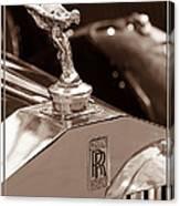 Vintage Rolls Royce 1 Canvas Print