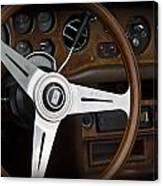 Vintage Rolls Royce Dash Canvas Print