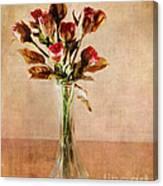 Vintage Roses Canvas Print