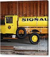 Vintage Signal Gasoline Truck . 7d12935 Canvas Print