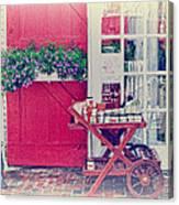 Vintage Store Canvas Print